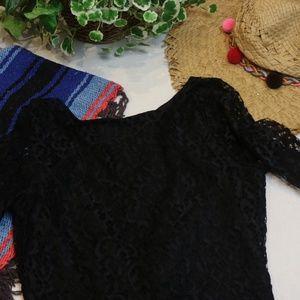 NWT ASOS Petite Lace Low Back Mini Cocktail Dress